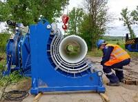 В Туле меняют аварийный участок трубы, из-за которого отключали воду в Пролетарском округе, Фото: 4