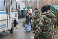 В ходе зачистки на Центральном рынке Тулы задержаны 350 человек, Фото: 35