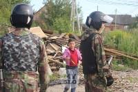 В Плеханово вновь сносят незаконные дома цыган, Фото: 8