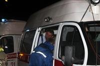 На ул. Металлургов в Туле лоб в лоб столкнулись две Daewoo, Фото: 2