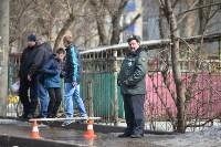 У дома, поврежденного взрывом в Ясногорске, демонтировали опасный угол стены, Фото: 20
