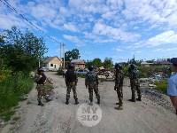 В Плеханово вновь сносят незаконные дома цыган, Фото: 1