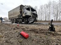 В Петелино сгорел грузовик, Фото: 7