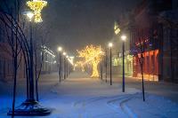 В Туле ночью бушевал буран, Фото: 61