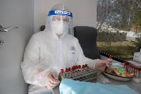 Экспресс-тест на covid-19, маски и социальная дистанция: В Туле первых призывников отправили в армию, Фото: 48