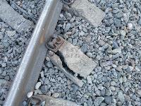 В Тульской области грузовой поезд сошел с рельсов, Фото: 12