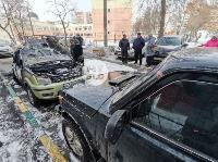 В Туле на улице Ф. Энгельса сгорел припаркованный Ford, Фото: 7