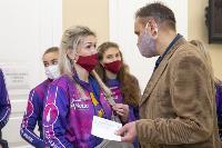 "Волейболистки ""Тулицы"" сделали прививки от гриппа, Фото: 7"
