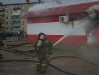 В Ясногорске сгорел продуктовый магазин. 16 мая 2015, Фото: 2