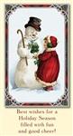 Старинные рождественские открытки, Фото: 14
