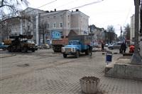 Прорыв водовода на пр. Ленина, Фото: 18