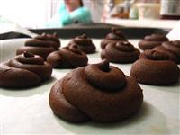 Печеньки в виде экскрементов., Фото: 8