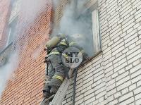 Пожар в общежитии на ул. Фучика, Фото: 15