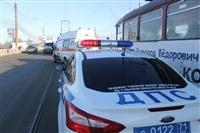 ДТП на мосту через Упу с участием «скорой». 28 января 2014, Фото: 5
