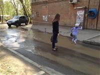 В центре Тулы хлещет вода, Фото: 4