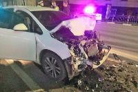 Ночью в Туле водитель легковушки врезался в реанимацию, Фото: 5