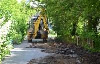 В Пролетарском округе Тулы продолжается асфальтирование дворов, Фото: 9
