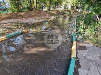 Прорыв водопровода , Фото: 15
