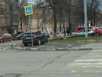 В Туле внедорожник BMW повалил столб ЛЭП, Фото: 8