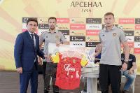Сергей Егоров поздравил футболистов «Арсенала» с завершением сезона, Фото: 9
