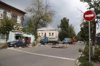 Дыра в асфальте на пересечении Каминского и Тургеневской, Фото: 1