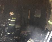 В общежитии на Веневском шоссе в Туле произошел пожар, Фото: 5