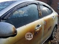 Ночной пожар в Петелино: огонь повредил три автомобиля, Фото: 11
