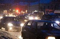 Утренние пробки в Туле, Фото: 2