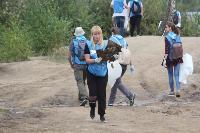 В Кондуках прошла акция «Вода России»: собрали более 500 мешков мусора, Фото: 48