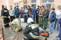 Тульские спасатели провели урок для юнармейцев, Фото: 10