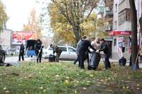 Тульские жилищники вышли на субботник, Фото: 4