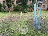 Дворы на Красноармейском проспекте затопило нечистотами, Фото: 23