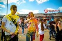 В Туле прошел фестиваль красок и летнего настроения, Фото: 85