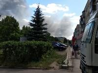 В Алексине произошел крупный пожар, Фото: 5