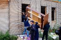 В Плеханово убирают незаконные строения, Фото: 6
