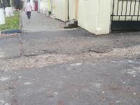 Немобильно! «Городские проекты» осмотрели тротуары на ул. Октябрьской, Фото: 1