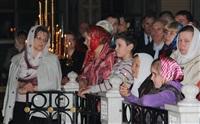 Пасхальная служба в Успенском соборе. 20.04.2014, Фото: 17