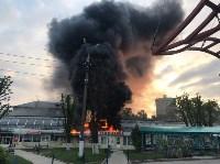 """Сгорел рынок """"Салют"""", Фото: 15"""