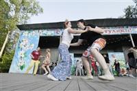 """""""Буги-вуги попурри"""" в Центральном парке. 18 мая 2014, Фото: 23"""