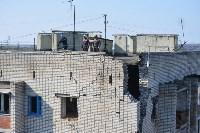 У дома, поврежденного взрывом в Ясногорске, демонтировали опасный угол стены, Фото: 30