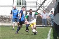 Тульские журналисты сыграли в футбол с зэками, Фото: 7
