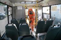Дезинфекция транспорта в Туле, Фото: 13