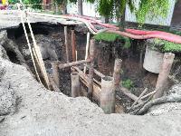 Очередной провал дороги в Мясново, Фото: 5