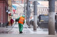 В Туле продолжается масштабная дезинфекция улиц, Фото: 16
