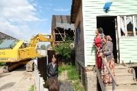 В Плеханово начали сносить дома в цыганском таборе, Фото: 69