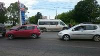 В Туле на пересечении ул. Ген. Маргелова и проспекта Ленина произошло тройное ДТП, Фото: 8