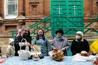 Туляки освящают пасхи и куличи, Фото: 28