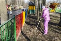 Субботник в Комсомольском парке с Владимиром Груздевым, 11.04.2014, Фото: 46
