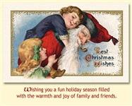 Старинные рождественские открытки, Фото: 2