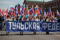 Тульская Федерация профсоюзов провела митинг и первомайское шествие. 1.05.2014, Фото: 11